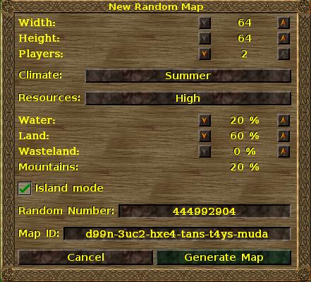 New Random Map